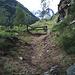 Le sentier menant de Bielti à Biel.