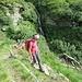 Scendendo la Val Cornavosa.
