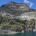 Über dieser Wand beginnt der Stichelgrat, meinem Zugang zum Monte Leone