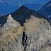 Im Vordergrund Pizzo Fne (2929m), dahinter Punta Valgrande (2857m)