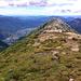Le sommet et la plaine de Bellinzona 2500m plus bas.