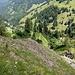 Serpentinenweg von der Altenhof- zur Unterfluhalpe