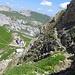 Abstieg zum Rotsteinpass