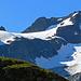 der Piz Grialetsch (3131 m) ist mit Gletschern umgeben.