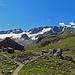 SAC-Hütte, Chamanna da Grialetsch. (2542 m)