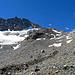 durch diese Gerölllandschaft geht es hinauf zum Gletscher, siehe nächstes Bild.