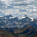 Aussicht vom Gipfel Piz Grialetsch in Richtung Piz d`Err