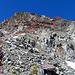 der Aufstieg über den Südgrat zum Piz Grialetsch