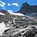 dieses Gletscherbächlein habe ich viermal überqueren müssen, ist aber kein Problem