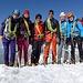 Unser fröhliches Team auf dem Gipfel