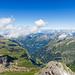 Blick am Hinter und Mittler Gassenstock vorbei nach Chäseren und ins Rossmatter Tal