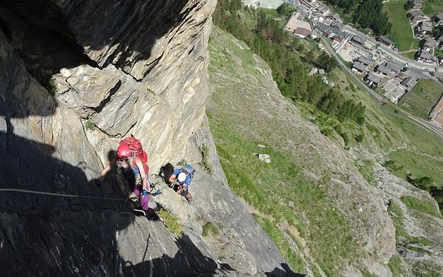 Klettersteig Switzerland : Klettersteig schweifinen m u tourenberichte und fotos hikr