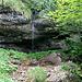 Ein Wasserfall, auf dem Weg zum Tristenboden.