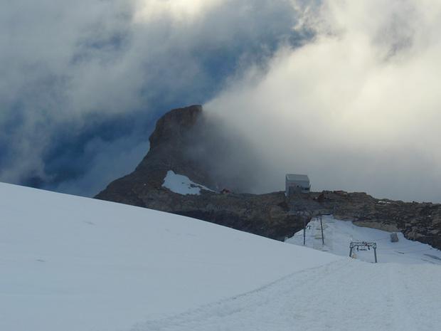 Auf dem Gletscher oberhalb Unter Rotegg