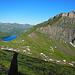 Blick vom Ochsenhorn auf den Schafberg