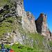 Klettersteig zum Schafberg