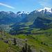 Schöner Abstieg nach Engelberg
