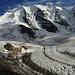 Unsere morgigen zwei Gipfelziele lächeln uns an :-)