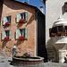 kleiner Dorfbrunnen in Guarda