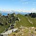 Panorama dalla cima verso il Ponteranica