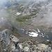 Tiefblick zum Schwarzhornsee