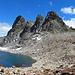 kleiner Bergsee mit Piz Radönt<br />
