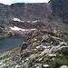Petit lac sans nom, juste en dessous du Distelgrat.