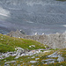 Interessante Gesteinsformationen an der ehemaligen Seitenmoräne des Moiry-Gletschers