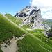das Verajöchli liegt hinter uns, wir sind auf dem Weg zum Schweizer Tor, wo wir von Österreich ind die Schweiz zurückkehren