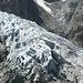 Close up von der Gletscherzunge