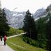 Man kann zwischen Naturweg oder asphaltiertem Weg wählen.