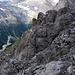Auf dem Gipfelgrat des Fründenhorns.