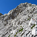 und jetzt noch die letzten Meter in schönster Kletterei
