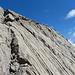 formschöne Felswand