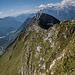 Geschafft, Rückblick vom Gipfel des Kranji Vrh