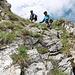 Dernières chaines au dessus du Col entre Dent de Ruth et Amelier