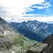 Blick aus der Route Richtung Diederberge