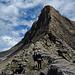"""Auch auf der """"Wart"""" waren heute viele Berggänger."""