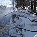 Stürmischer Wind - Schneeverwehungen