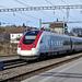 Bahnhof Gorgier - St. Aubin mit ICN