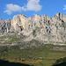 ein imposante Felswand