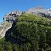 Bergpanorama von der Spittelmatte aus gesehen