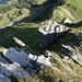 Im Aufstieg über den N-Grat auf den Gantrisch.