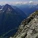 Auch auf der anderen Seite zeigt sich der Bristen, welchen wir von Amsteg mit 2550 Höhenmeter erfolgreich bestiegen haben.