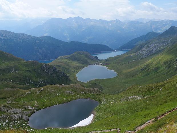 Laghetto di Taneda superiore, Lago di Tom, Lago Ritóm