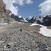Und mehr Schutt - auf der Gletschermoräne
