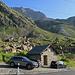 """Start der Tour war hier bei  der """"Chamanna dal Stradin"""" besonders viele Parkplätze hat es hier nicht."""