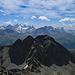 der Blick auf die andere Seite ins Berninamassiv ist bedeutend schöner.