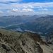 am unteren Bildrand ist ein Teil vom Bergweg sichtbar.
