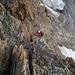 moderate alpine Kletterei